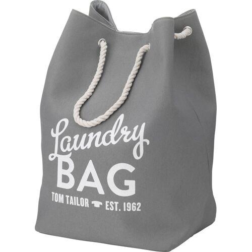 TOM TAILOR Wäschesack »LAUNDRY BAG«, grau