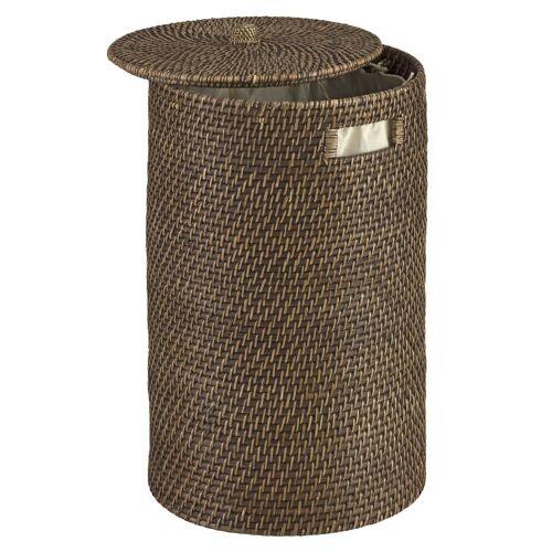 heine home Wäschesammler mit abnehmbarem Deckel mit abnehmbarem Deckel mit abnehmbarem Deckel, braun