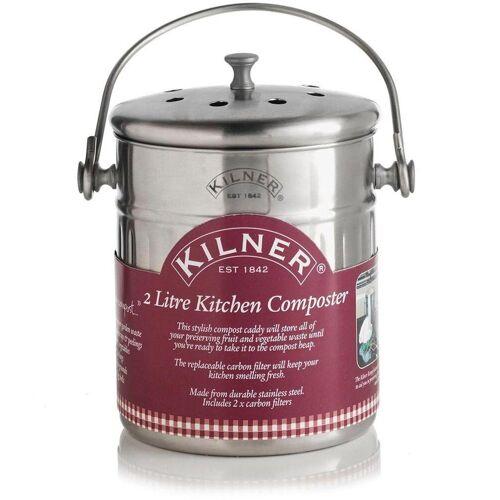 """KILNER Biomülleimer »""""Küchen-Komposter""""«, inkl. 2 Kohlefilter, 2 Liter"""