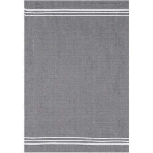 stuco Geschirrtuch »Waffel, farbig«, (Set, 3-tlg), grau-weiß