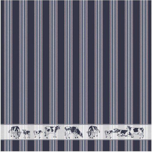 DDDDD Geschirrtuch »Friesian«, (Set, 6-tlg), dunkelblau
