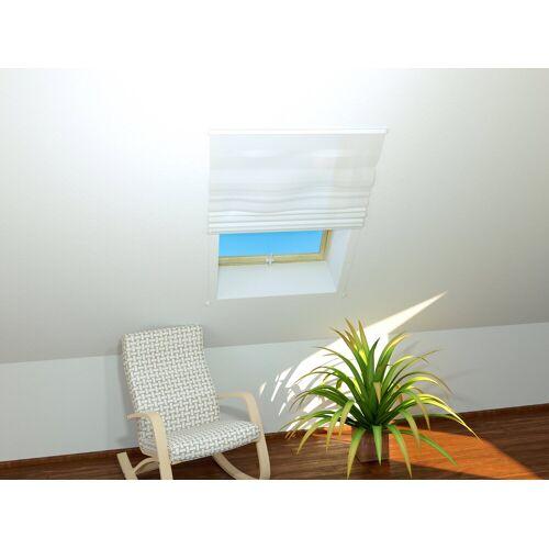 hecht international HECHT Insektenschutz-Dachfenster-Rollo »BASIC«, weiß/weiß, BxH: 110x160 cm, weiß