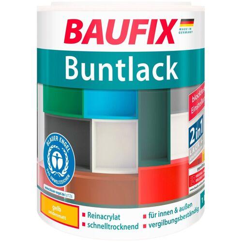 Baufix Acryl-Buntlack, 1 Liter, gelb