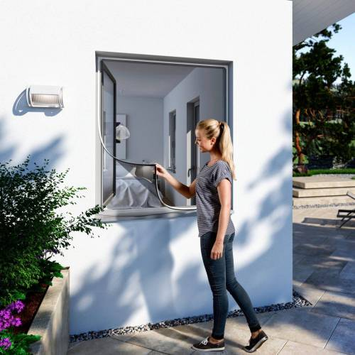 WINDHAGER Insektenschutz-Fenster BxH: 100x120 cm