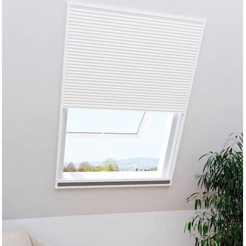 WINDHAGER Insektenschutz-Plissee »Dachfenster 2in1 EXPERT«, BxH: 110x160 cm