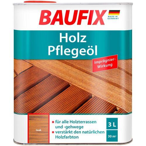Baufix Holzschutz-Lasur »Teak«, Pflegeöl, braun