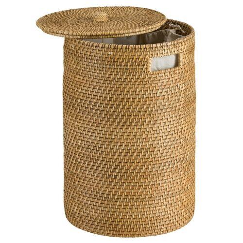 heine home Wäschesammler mit abnehmbarem Deckel mit abnehmbarem Deckel mit abnehmbarem Deckel, honig