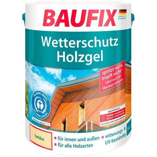 Baufix Holzschutz-Lasur »Farblos«, Wetterschutz-Holzgel