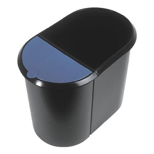 HELIT Papierkorb »the double H61039«, blau
