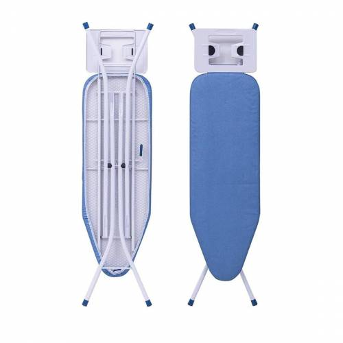 Woltu Bügelbrett, Bügelbrett in Klassischer Stil, blau