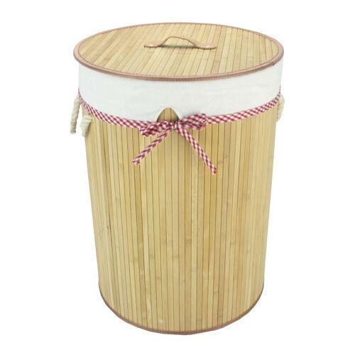HTI-Line Wäschekorb »Maisie«, Bambus