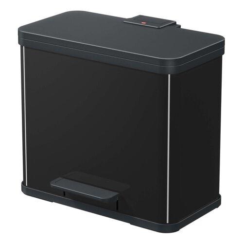 Hailo Mülltrennsystem »Öko Duo Plus L Schwarz 17+9 L«