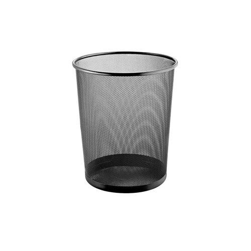 Lüllmann Papierkorb »Mesh-Papierkorb, 15 Liter, 267 x 280 mm«, 15 Liter Volumen