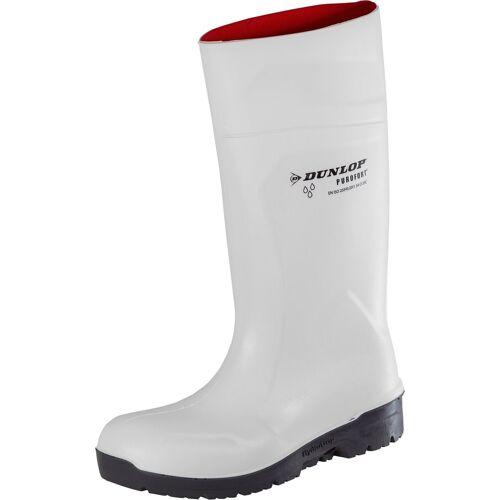 Dunlop Sicherheitsstiefel »HydroGrip safety«, Sicherheitsklasse S4, weiß/grau