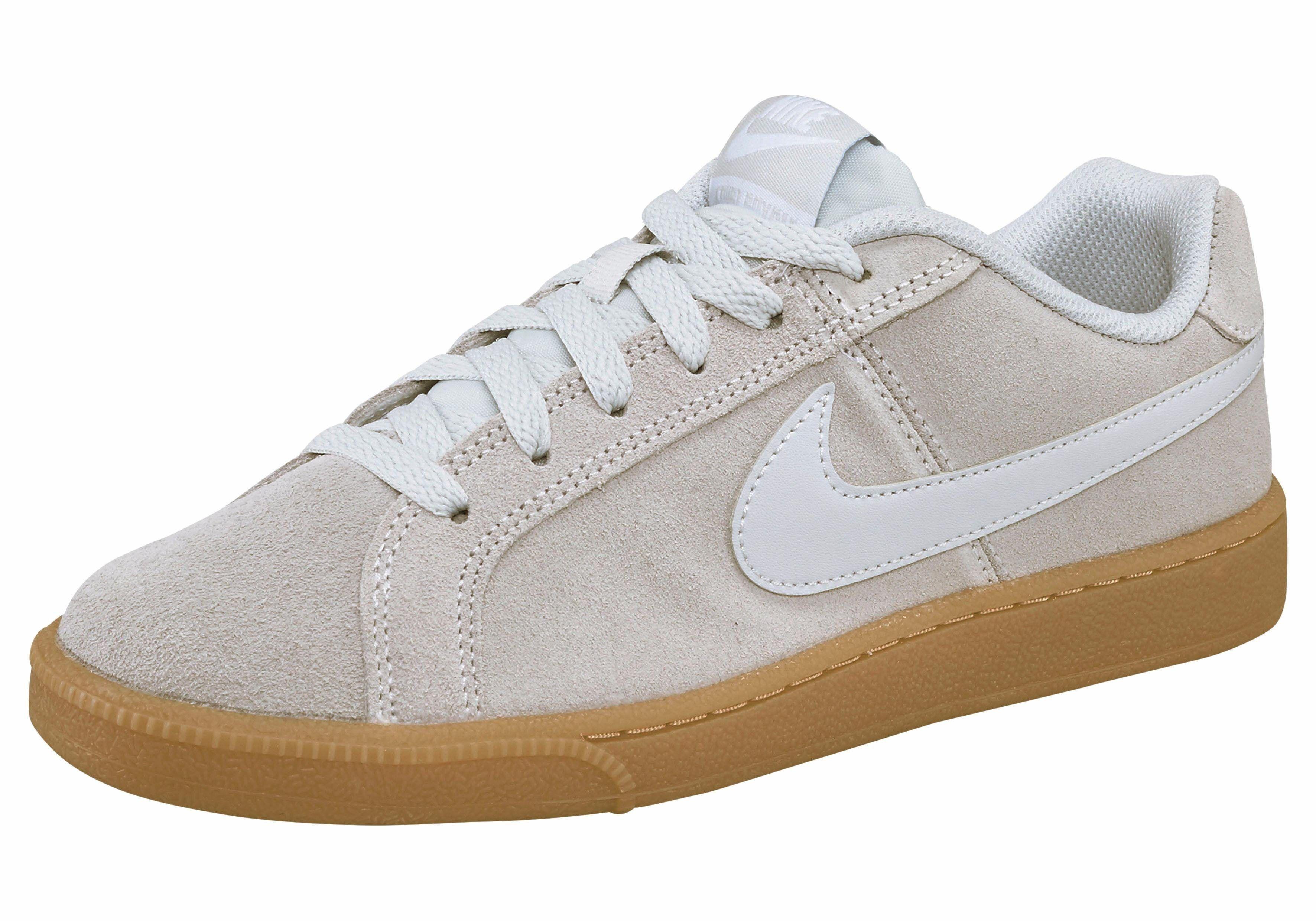 Nike Sportswear »Wmns Court Royale Suede« Sneaker, hellgrau