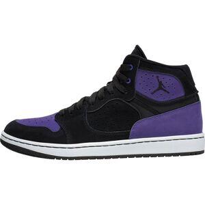 Jordan »Access« Sneaker, Black/ Black-court Purple