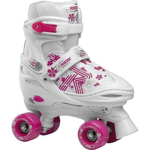 Roces Rollschuhe »Rollschuhe Quaddy weiß«, rosa/weiß