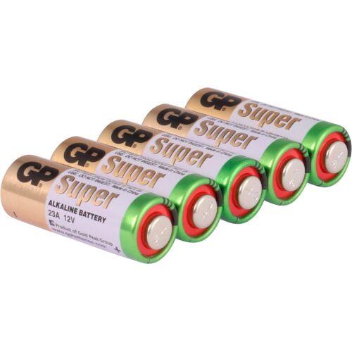 GP Batteries »Alkaline Rundzellenbatterie 23A« Batterie, (12 V, 5 St)