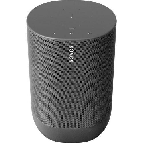 Sonos Move Mono Smart Speaker (Bluetooth, WLAN (WiFi), 40 W), schwarz