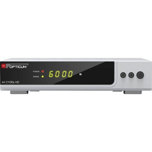 Opticum Red »AX C100s HD HDTV - Receiver - silber« Kabel-Receiver