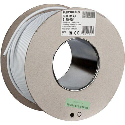 Kathrein »LCD 111 A+ Koaxialkabel, 1,13/6,9 mm,« SAT-Kabel