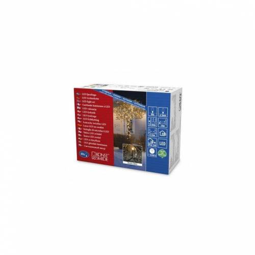 KONSTSMIDE Lichtervorhang »80-er Micro LED Lichterkette«