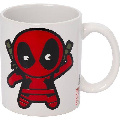 MARVEL Tasse »Tasse Deadpool Chibi, 315 ml«, rot