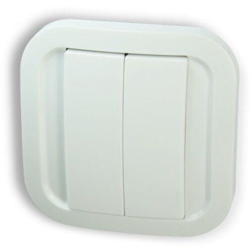 Z-Wave Smart Home Zubehör »Wandschalter«, Weiß