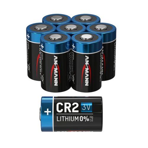 Ansmann »8x CR2 Lithium Batterie 3V - Hochleistungsbatterie (8 Stück)« Batterie