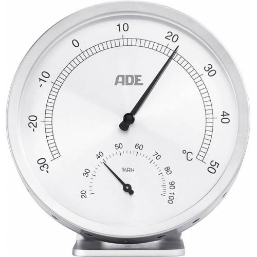 ADE »Analoges Thermo-/Hygrometer WS 1813« Funkwetterstation
