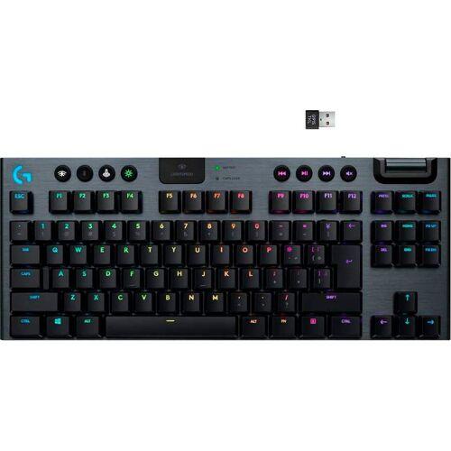 Logitech G »Gaming Tastatur G915 TKL White« Gaming-Tastatur
