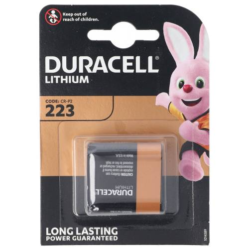 Duracell »Photobatterie CR-P2 CRP2 Ultra DL223 Lith« Fotobatterie