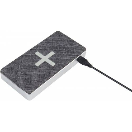 Xtorm Lader »Power Bank Wireless 8000 (QI) - Wave«, Grau-Silber