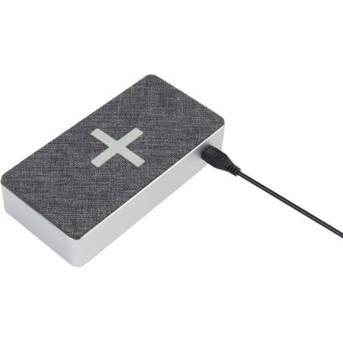 Xtorm Lader »Power Bank Wireless 16000 (QI) - Motion«, Grau-Silber