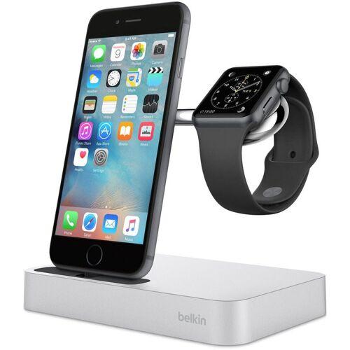 Belkin Lader »Ladestation Valet™ für Apple Watch und iPhone«, Silber