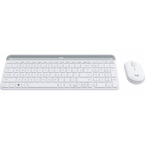 Logitech Tastatur- und Maus-Set »Slim Wireless MK470«