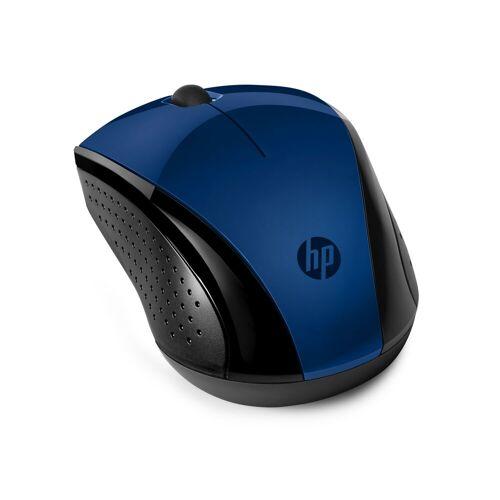 HP Wireless-Maus 220 »Beidhändig bedienbare Wireless Travel-Maus«, blau