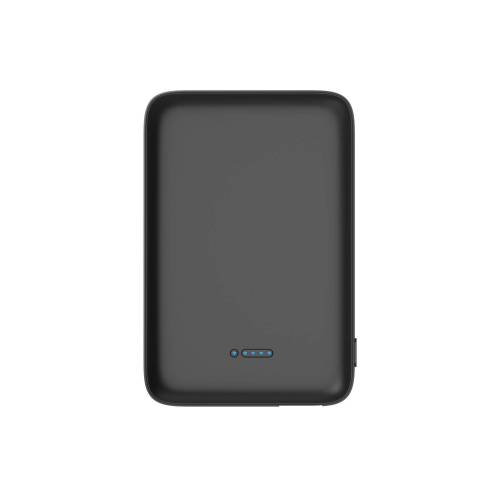 XLAYER Zusatzakku »Powerbank Wireless Charger 5000mAh Qi-Zertifiziert«, schwarz