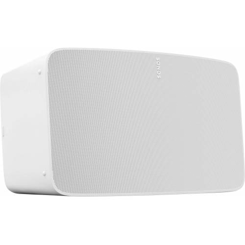 Sonos Five Smart Speaker (LAN (Ethernet), WLAN, WLAN Speaker für Musikstreaming), weiß