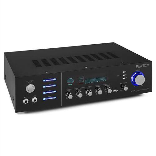 Fenton AV320BT Surround-HiFi-Verstärker 200W RMS (2x100W an 8 Ohm) BT/USB/AUX Verstärker