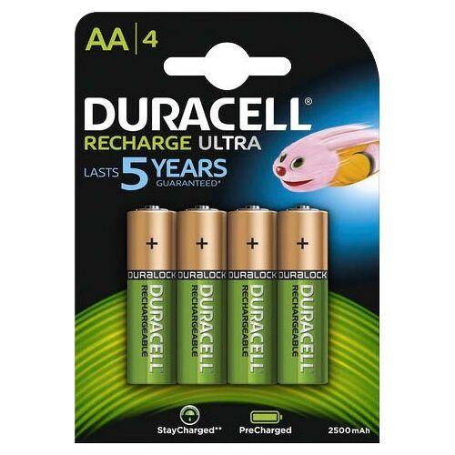 Duracell »Recharge Ultra« Batterie, (1,2 V)