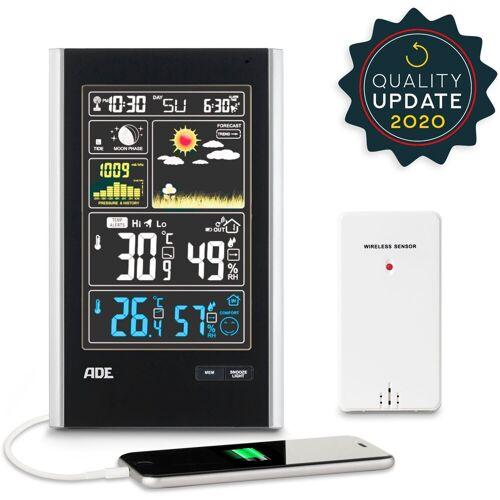 ADE »WS 1600« Funkwetterstation (mit Außensensor, mit Außensensor)