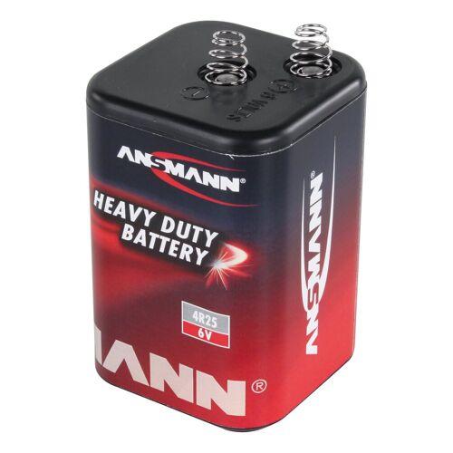 Ansmann »1x 4R23 Zink-Kohle Batterie 6V – Blockbatterie (1 Stück)« Batterie