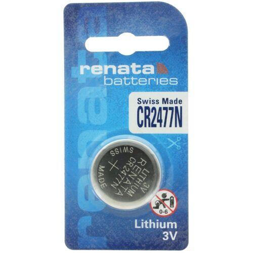 Renata »CR2477N Lithium Batterie mit 950mAh« Batterie