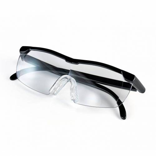 EASYmaxx Lupenbrille, Vergrößerungsbrille schwarz