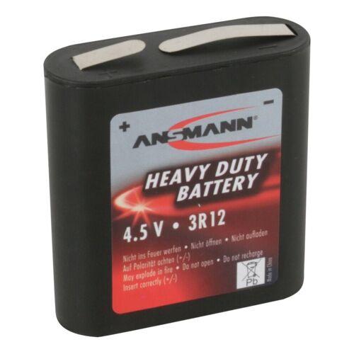Ansmann »1x 3R12 Zink-Kohle Batterie 4,5V – Faltbatterie (1 Stück)« Batterie
