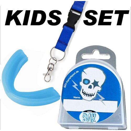 BAY-Sports Zahnschutz »Kinder Skull Zahnschützer Mundschutz Boxen Kids«, Kinderzahnschutz
