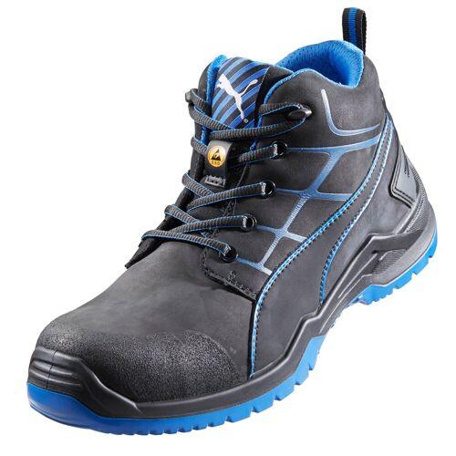 Puma Sicherheitsstiefel, schwarz/blau