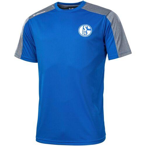 Albatros T-Shirt »CLIMA PRO S04«, Gr. S - XXXL, Schalke 04, blau