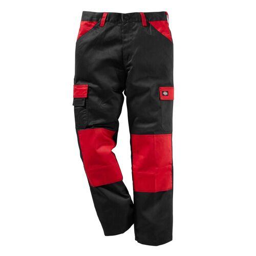 Dickies Arbeitshose »Every Day 24/7« mit Kniepolstertaschen, rot-schwarz